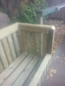 Garbage Can Holders really well made assembled on location Edmonton Edmonton Area image 2