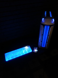 Powerful RGB Gaming PC w/ Gaming Keyboard and Mouse