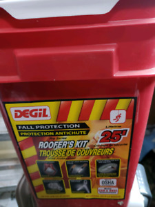 Fall protection roofers kit