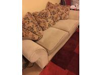 Sofa, Chair and Footstool York