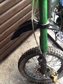 Pit bike usd forks