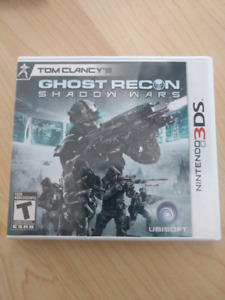 [3DS] Tom Clancy Ghost Recon Shadow Wars