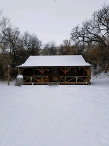 Rustic Log Cabin for rent