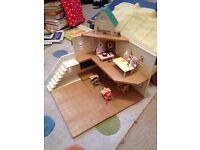 Sylvanian school set