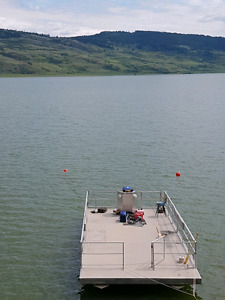 Pontoon Boat - 30' long by 14' wide