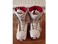 Solomon snowboard boots - ladies size 6-6.5