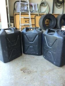Army surplus British army water jugs