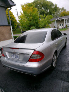 Mercedes E550 2007 4Matic