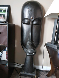 Tiki-wooden hand carved