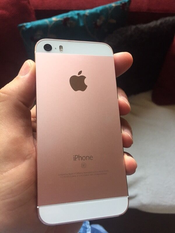 iphone 5s rose gold iphone 5s gold 16gb unlocked in gorgie 4978
