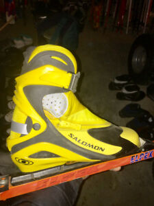 Skate skiing boots Salomon RS9 Pilot - excellent cond