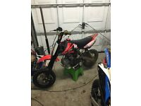 Genuine crf50 modified
