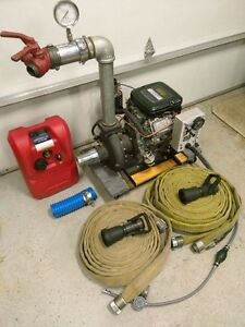 Darley 2BE 23V portable fire fighting water pump