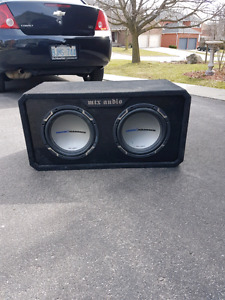 Mtx jackhammer subs with cap