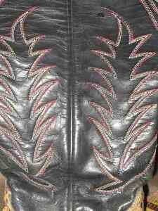 Womens Custom Made Snake Skin Cowboy Boots Edmonton Edmonton Area image 4