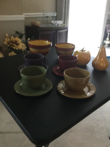 Beautiful dishes and home decor items