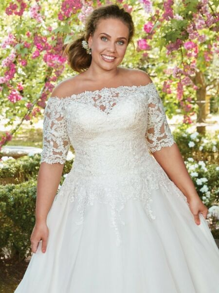 214af6605ab Plus Size Wedding Dresses Collection - Designer Gowns ( USA) Rebecca Ingram  by Maggie Sottero