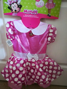 Brand new Minnie mouse costume with headband and gloves