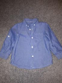 12-18 months old boy Denim shirt