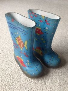 Size 5 Toddler Rubber Boots
