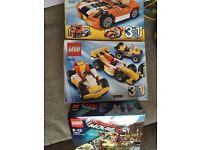 3 small Lego sets