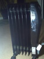 Garrison oil filled electric Heater 1500watts digital display