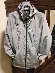 Men's large LRG spring/summer shell hooded jacket.