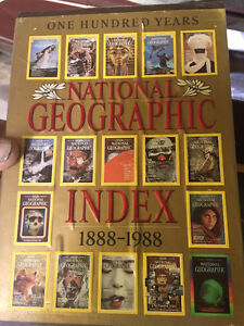 Complete Set _ National Geographic from 1914 to 1999