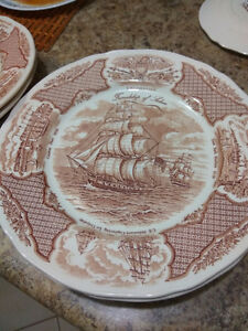 Selling Set of Vintage Fair Winds Canton Port Bowls and Dishes