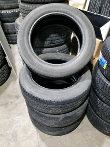 245/55R19 Continental Cross Contact Set of 4 TREAD IS 7/32ND