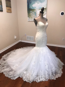 SELLING WEDDING GOWN- USED ONCE