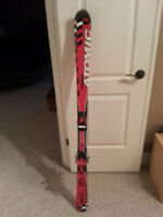 Skis with Bindings and Boots