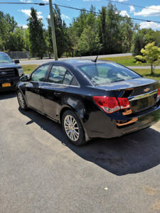 2012 CHEVY CRUZE LOW MILAGE