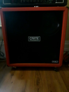 USA Crate 4x12  Red Voodoo Guitar Cab