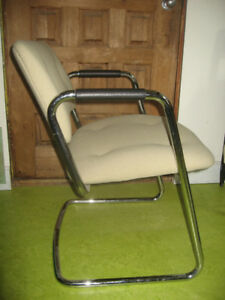 Vintage Retro Tubular Chrome Chair