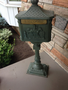 Mail Box on Stand