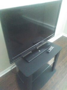 "For sale: 40"" Sharp LCD TV 720p + TV stand"