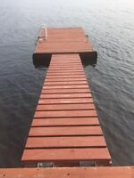 Floating Dock and ramp for sale