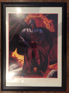 Star Wars Movie Poster Collectibles - 2 signed by Hildebrandt