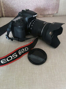Canon 60D DSLR and 18-135mm IS lens
