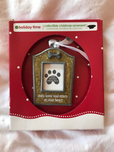 NEW Dog Christmas Ornament $1