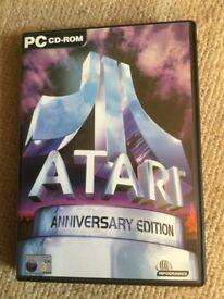 Atari ( Anniversary Edition ) Games PC cd-rom