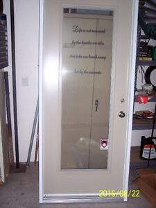 EXTERIOR Door With Vinyl Frame