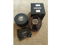 DRIVE From Citizen Eco-Drive AR2.0 Men's Rubber Strap Watch