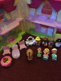 Girls Happy land toys £40