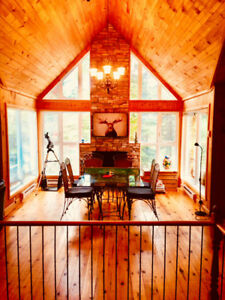 Chalet to Rent, Cottage:hiking,canoe,kayak,fishing,special occas