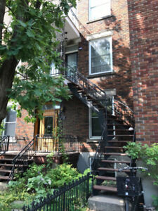 Plateau 4 ½ - $1250 per month, unfurnished, available Sept 1
