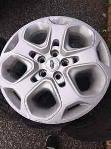 225 50 17 winter tires on 5x114.3 rims  Peterborough Peterborough Area image 2