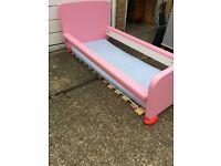 IKEA Mammut Girls Pink Bed