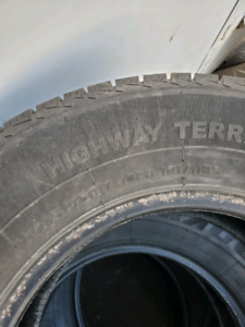 265/70/R17 SUV tires